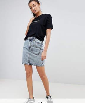 Noisy May Tall Acid Wash Skirt