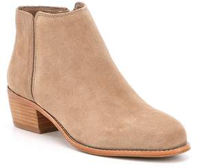 Antonio Melani Suede Paxt Stacked Block Heel Booties
