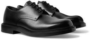 Calvin Klein Pebble-Grain Leather Derby Shoes