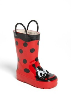 Western Chief Girl's 'Ladybug' Rain Boot