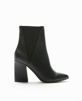 Express stretch heeled booties