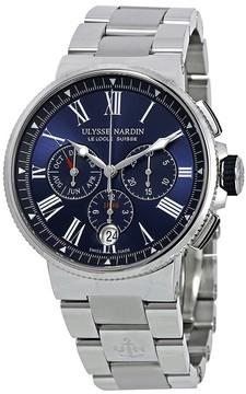 Ulysse Nardin Marine Blue Dial Men's Automatic Watch