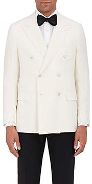 Caruso Men's Wool-Blend Double-Breasted Tuxedo Jacket