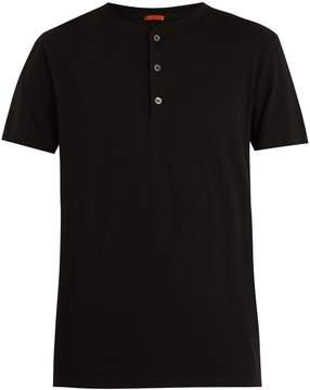 Barena VENEZIA Henley short-sleeved cotton T-shirt