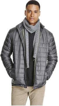Joe Fresh Men's Puffer Jacket, Grey Mix (Size S)