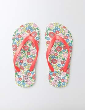 Boden Printed Flip Flops