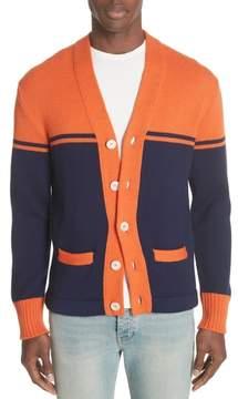 Gucci Collegiate Wool Cardigan