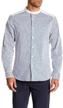 Kenneth Cole New York Striped Long Sleeve Regular Fit Shirt