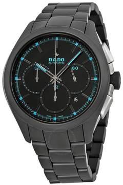 Rado HyperChrome Chronograph Black Dial Black Ceramic Men's Watch