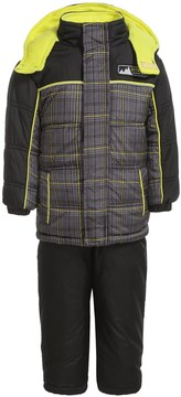 iXtreme Plaid Expedition Print Snowsuit - Insulated (For Infant Boys)
