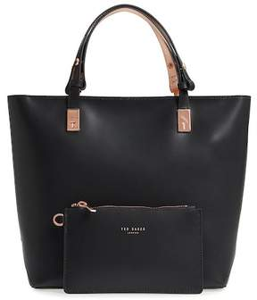 Ted Baker Adjustable Handle Leather Tote