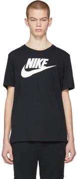 Nike Black and White Futura Icon Logo T-Shirt