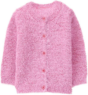 Gymboree Light Pink Fuzzy Cardigan - Infant, Toddler & Girls