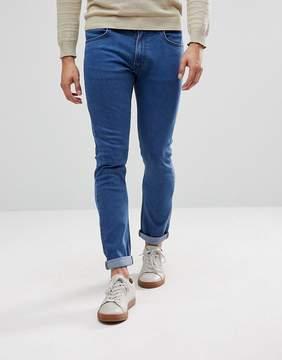 Lee Luke Stonewash Blue Skinny Jean
