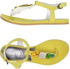 Guardiani Sport Toe strap sandals