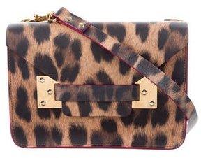 Sophie Hulme Nano Leopard Print Milner Crossbody