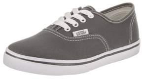 Vans Kids Authentic Lo Pro Pewter Skate Shoe 2 Kids US
