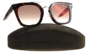 Tom Ford New Sunglasses Unisex TF 541 Havana 55U Alex-02 51mm
