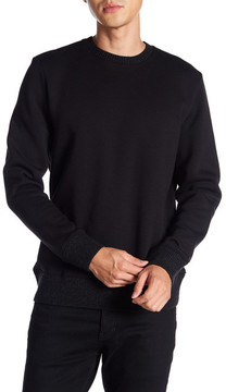 Karl Lagerfeld Ribbed Hem Pullover