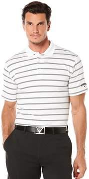 Callaway Golf Opti-Dri Horizontal Stripe Polo Shirt