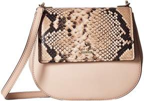 Kate Spade Cameron Street Snake Small Byrdie Handbags - TOASTED WHEAT - STYLE