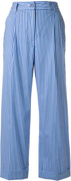 P.A.R.O.S.H. striped wide-leg trousers