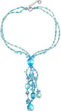 Antica Murrina Veneziana Bali Secret Light Blue Murano Glass Pendant Necklace