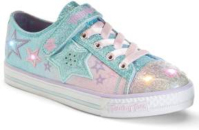 Skechers Twinkle Toes Wishes Enchanter Girls' Light-Up Sneakers