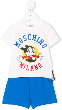 Moschino Kids Mickey Mouse print shorties