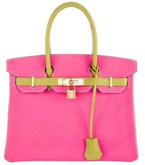 Hermès Special Order Chevre Mysore Birkin 30
