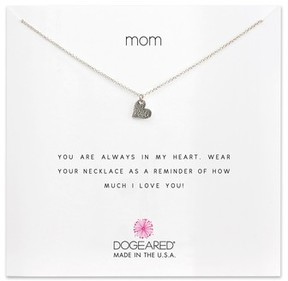 Dogeared Women's Mom Pendant Necklace