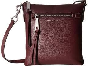 Marc Jacobs Recruit North/South Crossbody Cross Body Handbags - BLACK - STYLE