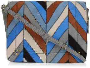 Jerome Dreyfuss Igor Chevron Patchwork Bag