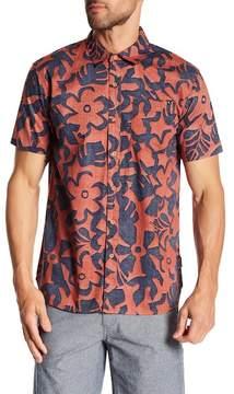 Lost Floral Grande Short Sleeve Regular Fit Woven Shirt