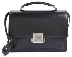 Saint Laurent Medium Bellechasse School Leather Shoulder Bag - Black - BLACK - STYLE