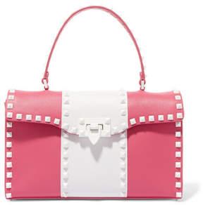 Valentino Garavani The Rockstud Leather Tote - Pink