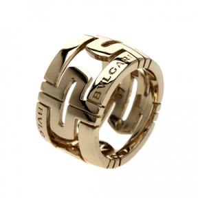 Bulgari Parentesi yellow gold ring