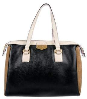 Marc by Marc Jacobs Colorblock Leather Handle Bag