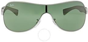 Ray-Ban Aviator Green Sunglasses