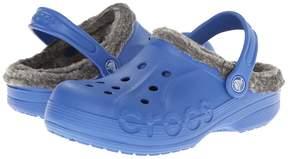 Crocs Baya Heathered Lined Clog (Toddler/Little Kid)