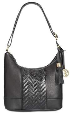 Giani Bernini Small Double-zip Hobo Handbag.
