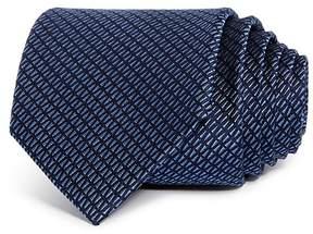 Bloomingdale's The Men's Store at Tonal Textured Geometric Skinny Tie - 100% Exclusive