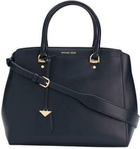 MICHAEL Michael Kors Benning Large Leather Satchel Bag