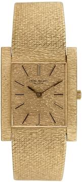 Patek Philippe Men's Vintage 18K Yellow Gold Bezel Watch, 33mm