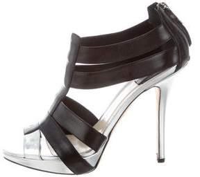 Christian Dior Caged Platform Sandals