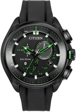 Citizen Men's Proximity Black Polyurethane Strap Watch 46mm BZ1028-04E, Limited Edition