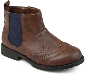Journee Collection Brown Lennon Ankle Boot