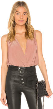 BCBGeneration Low V Neck Bodysuit