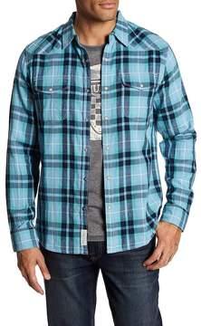Lucky Brand Western Plaid Slim Fit Shirt