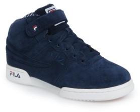 Fila Boy's F-13 Mid Pinstripe Sneaker